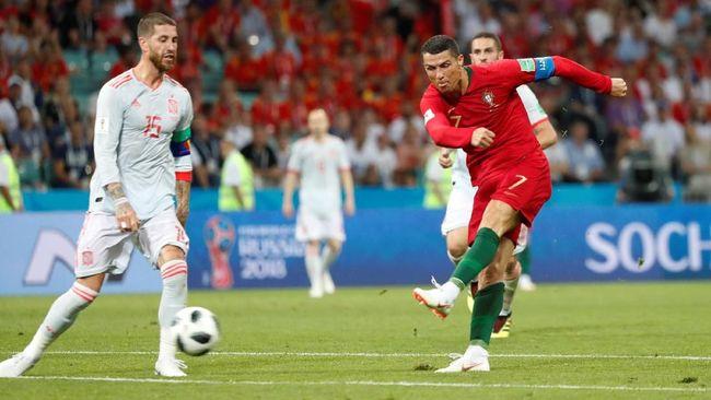 Timnas Portugal menjalani laga krusial untuk mengamankan tiket 16 besar Piala Dunia 2018 menghadapi Maroko, Rabu (20/6). Berikut prediksi Portugal vs Maroko.