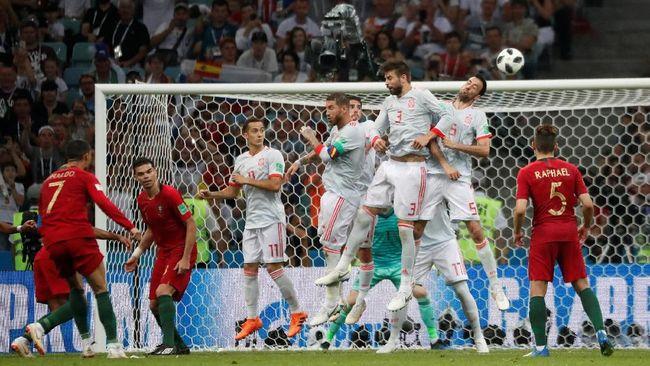 Timnas Spanyol akan menghadapi Iran dalam pertandingan kedua Grup B Piala Dunia 2018 di Kazan Arena, Rabu (20/6). Berikut prediksi dari CNNIndonesia.com.