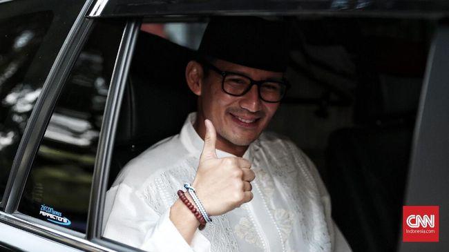 Wakil Gubernur DKI Sandiaga Uno mengajak Menteri Puan berkuda bersama sekaligus untuk menguji coba venue pacuan kuda yang akan digunakan di Asian Games 2018.