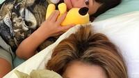 <p>Bundanya cantik, anaknya ganteng. Klop banget! (Foto: Instagram/ @tamarableszynskiofficial) </p>