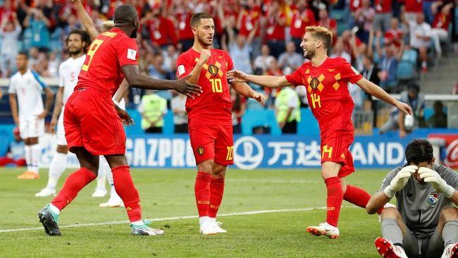 Belgia di atas kertas diprediksi bisa meraih kemenangan atas Tunisia pada Grup G Piala Dunia 2018 di Otkritie Arena.