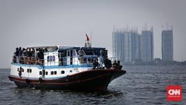 3 Kapal Nelayan Angkut Pemudik Diputar Balik di Teluk Jakarta