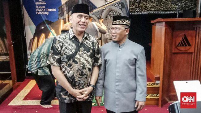 Penjabat Jawa Barat Mochamad Iriawan mengaku hanya bersilaturahmi dengan Abdullah Gymnastiar atau Aa Gym sebagai tokoh agama Jawa Barat.