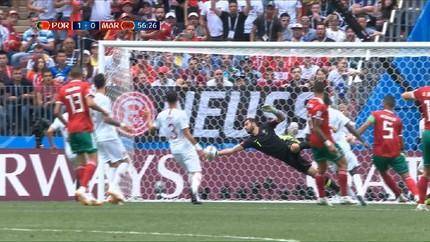 VIDEO: Cuplikan Gol Portugal vs Maroko