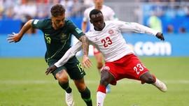 Timnas Denmark vs Australia Imbang 1-1