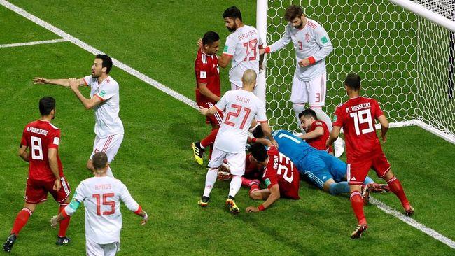 Kekalahan dari Spanyol tidak menyurutkan semangat Iran meraih tiket ke babak 16 besar untuk kali pertama dalam sejarah keikutsertaannya pada Piala Dunia.