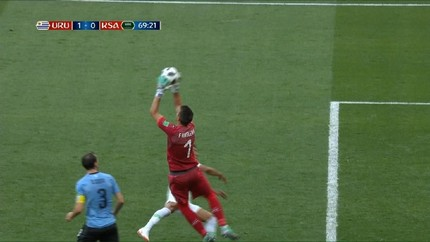 VIDEO: Cuplikan Pertandingan Uruguay vs Arab Saudi
