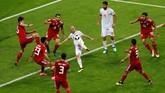 Timnas Spanyol meraih kemenangan pertama di Piala Dunia 2018 setelah mengalahkan Iran 1-0 di Kazan Arena, Kamis (21/6) berkat gol Diego Costa.