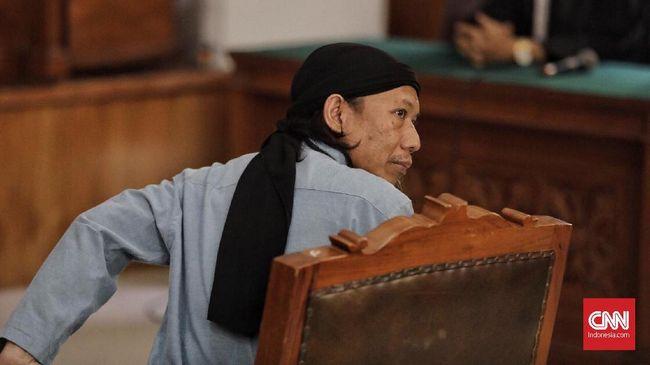 Hakim menyatakan Aman yang memimpin Jemaah Ansharut Daulah terbukti atas serangkaian serangan teror di Indonesia selama sembilan tahun terakhir.