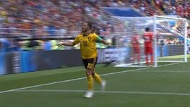 VIDEO: Drama Tujuh Gol Kemenangan Belgia atas Tunisia