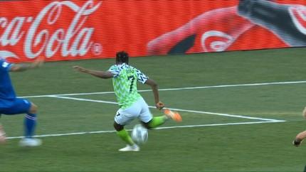 VIDEO: Ahmed Musa Borong Gol Kemenangan Nigeria atas Islandia
