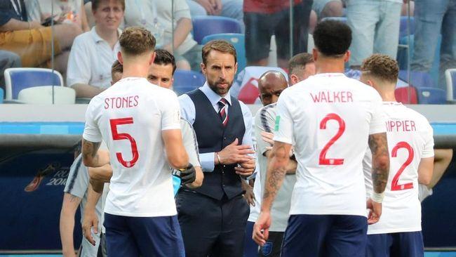 Timnas Inggris pesta gol ke gawang Panama pada laga kedua Grup G Piala Dunia 2018. Sebuah senjata baru membuat The Three Lions bisa pesta gol ke gawang Panama.