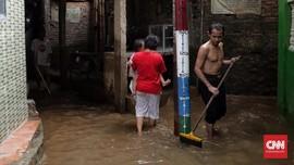 34 RT di Jakarta Masih Banjir Hingga Pagi Ini