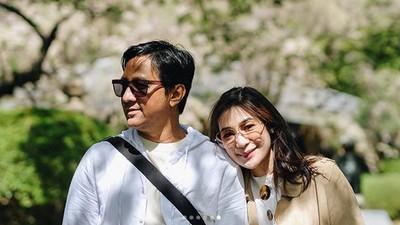 Dukungan Tak Henti Andre Taulany untuk Istri Tercinta