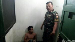Pakai Sapu, Anggota TNI Gagalkan Aksi Penjambret Pemudik di Ngawi