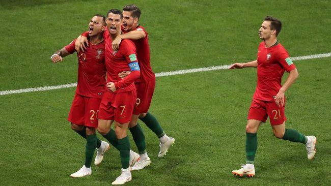 Prediksi Uruguay vs Portugal di 16 Besar Piala Dunia 2018