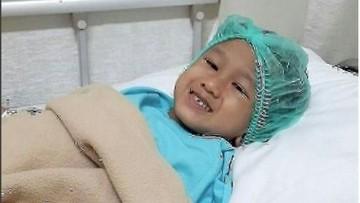 Kanker Otak Membuat Anak 7 Tahun Ini Kehilangan Kelincahannya