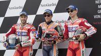 Permalink to Antara Lorenzo dan Dovizioso, Siapa Lawan Terberat Marquez di MotoGP Aragon?