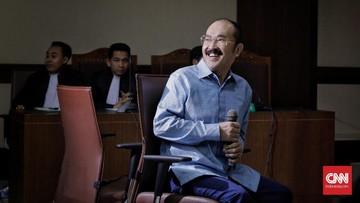 Fredrich Yunadi berharap majelis hakim PK membebaskan dirinya dari tuntutan pidana kasus merintangi penyidikan Setya Novanto.
