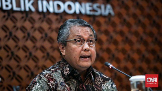 Bank Indonesia (BI) menahan suku bunga acuan BI 7 Days Reverse Repo Rate (BI7DRR) sebesar 3,5 persen pada April 2021.