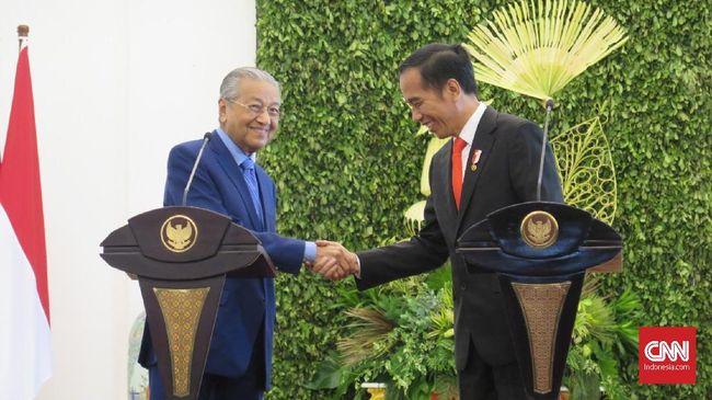 Tangkap Buronan Malaysia, Mahathir Berterima Kasih ke Jokowi