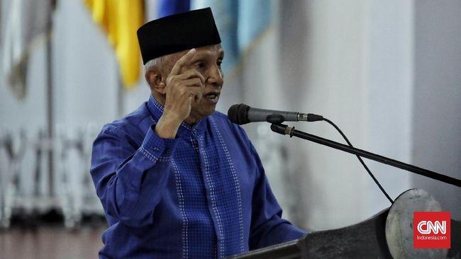Amien Rais mengingatkan calon presiden Prabowo-Sandiaga agar tidak menggunakan kekuatan asing pada Pilpres 2019.