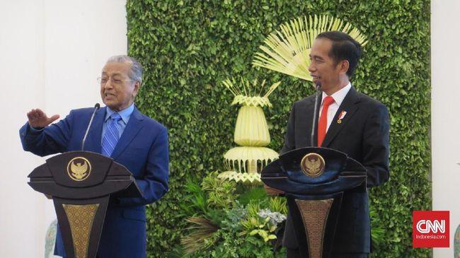 Mahathir Ajak Jokowi Produksi Mobil Malaysia-Indonesia