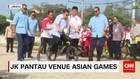 JK Mencoba Sepeda BMX Bersama Sejumlah Menteri