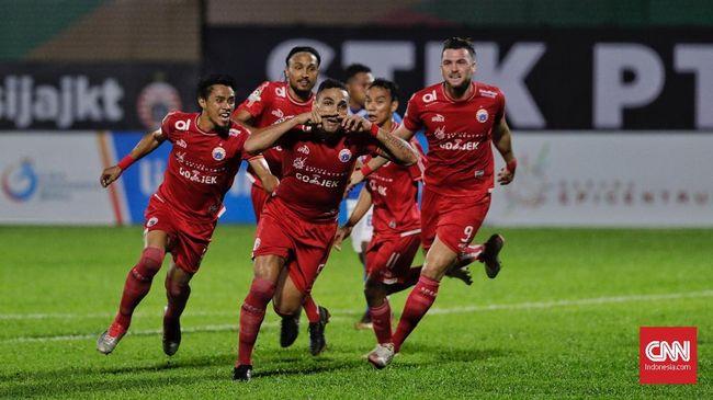 Persija Jakarta meraih kemenangan tipis ketika menjamu PSIS Semarang di Stadion Sultan Agung, Bantul, dalam lanjutan Liga 1 2018 pekan ke-22.