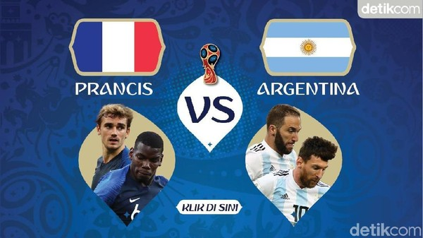 Prancis Pulangkan Argentina