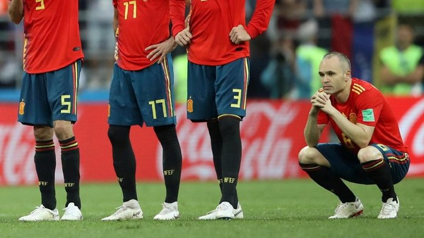 Spanyol Out dari Piala Dunia