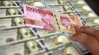 AS - China Kian Panas, Rupiah Keok ke Rp14.715 per Dolar AS