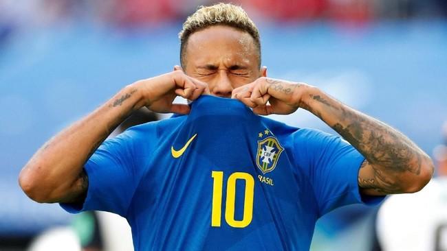 Foto Gaya Rambut Neymar Di Piala Dunia 2018