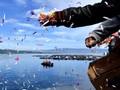 FOTO: Pupusnya Asa Keluarga Korban Sinar Bangun di Danau Toba