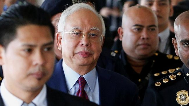 Mantan PM Malaysia Najib Razak akan Didakwa Pencucian Uang