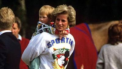 3 Nilai Pola Asuh 'Warisan' Putri Diana untuk Pangeran Harry