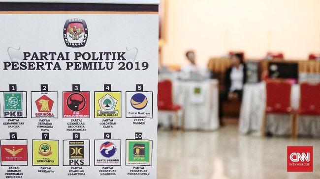 Berdasarkan survei Charta Politika, Nasdem menempati urutan kelima dengan perolehan suara 5,3 persen diikuti Partai Demokrat dengan perolehan suara 4,5 persen.