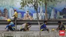 Daya Beli Buruh Bangunan dan ART Tergerus pada Juni 2020