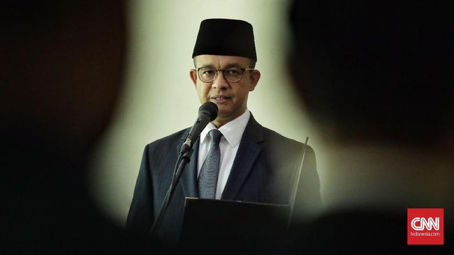 Anies Resmi Terapkan Psbb Di Dki Jakarta Jumat 10 April 2020