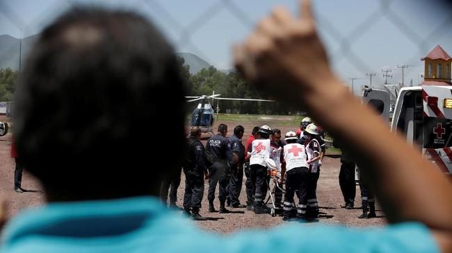 Serangkaian ledakan di pabrik kembang api di Meksiko menewaskan 24 orang dan melukai 49 lainnya, Kamis (5/7).