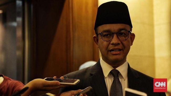 Gubernur Anies menyatakan telah mengecek wilayah Jakarta yang tergenang banjir dan memastikan genangan air di wilayah itu telah surut.