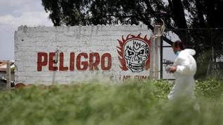 FOTO: Ledakan Pabrik Kembang Api di Meksiko