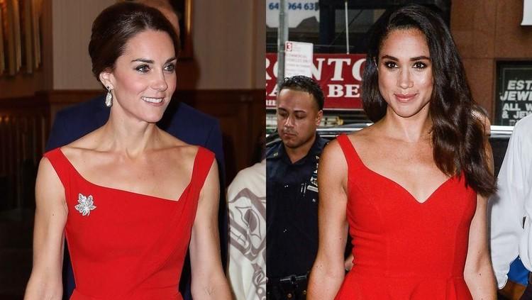 Perbedaan mecolok dari gaya fashion Kate dan Meghan menjadi perbincangan publik, lho Bun. Yuk cek gimana perbedaannya.