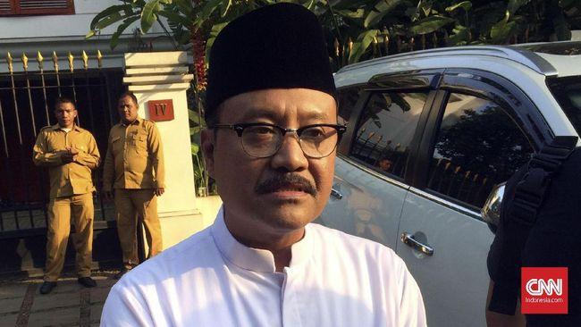 DPW PKB Jatim sudah menjalin komunikasi dengan eks Wagub Saifullah Yusuf atau Gus Ipul yang diusulkan para kiai untuk maju di Pilkada Pasuruan 2020.