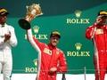 Hamilton Sempat Kecelakaan, Vettel Menang F1 GP Inggris