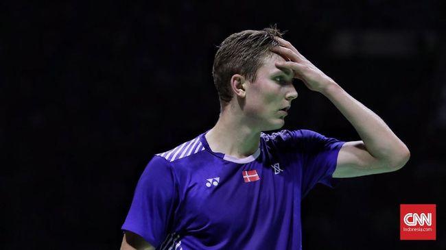 Viktor Axelsen gagal menjadi juara Eropa 2021 setelah tidak bisa bertanding di final lantaran positif covid-19.