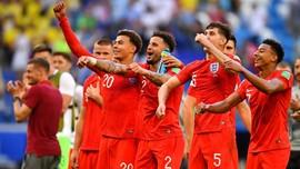 Harga Pemain Timnas Inggris Melonjak usai Piala Dunia 2018