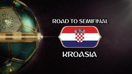 VIDEO: Perjalanan Kroasia Menuju Semifinal Piala Dunia 2018