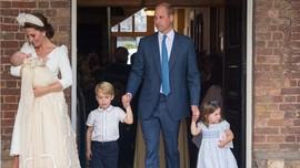Anggunnya Kate Middleton di Pesta Pembaptisan Pangeran Louis