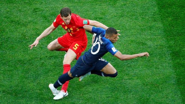 Pemain timnas Prancis Kylian Mbappe yang mengaku sebagai pemimpi pun bahkan menyebut lolos ke final Piala Dunia 2018 sudah melampaui mimpinya yang paling liar.